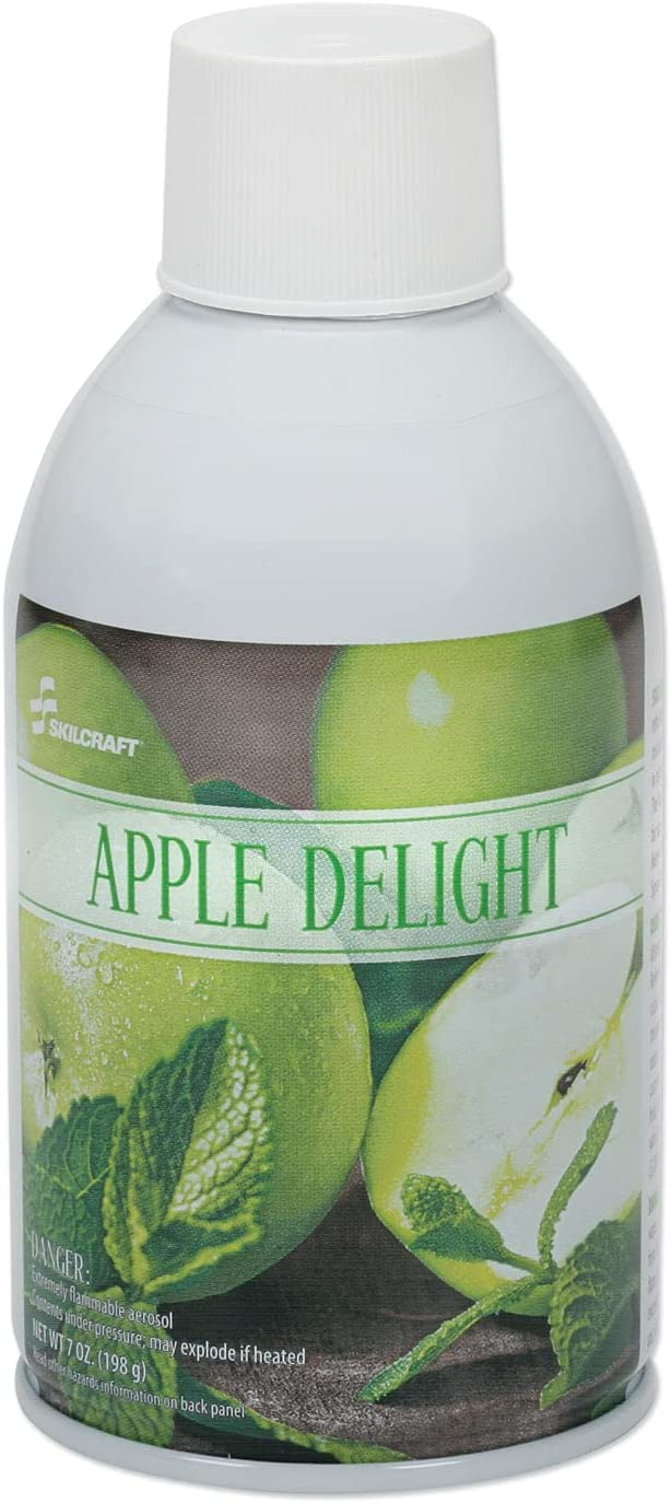 AbilityOne - SKILCRAFT-Zep Meter Mist 6840 Apple Scent Refills Special price for Clearance SALE! Limited time! a limited time