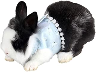 Yu-Xiang Hamster Flower Harness with Leash Groundhog Dress Guinea Pig Accessories Pet Halloween Costume Cosplay Cloth Walk...