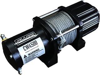 保証付 電動ウインチ 4500lb ワイヤーロープ 12V ジムニーに最適 シーエルリンク ウィンチ