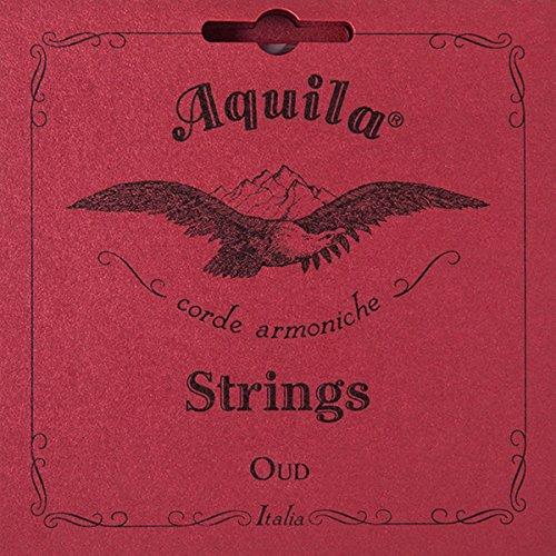 Aquila AQ O NN 13O New Nylgut Oud Set (11-String, Arabic Tuning, Light Tension)