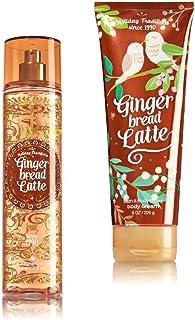 Bath & Body Works ~ Signature Collection ~ Gingerbread Latte ~ Winter 2016 ~ Gift Set ~ Fine Fragrance Mist & Ultra Shea B...