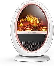 Calentador Termoventiladores y calefactores cerámicos simulación Estufa portátil Chimenea Fuego doméstico de energía eléctrica Temperatura Constante Inteligente Ahorro eléctrico