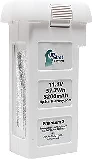 DJI Phantom 2 Battery Replacement (11.1v, 5200mAh, Lithium Polymer) - for DJI Phantom 2 Series Quadcopter Drone, DJI Phantom 2 Vision Quadcopter, DJI Phantom 2 Vision+