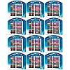 (エクスポ) Expo 低臭性ホワイトボードマーカー、平芯、16本パック、カラーセット Case of 12 Sets