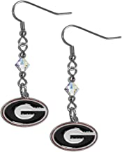 NCAA Crystal Dangle Earrings