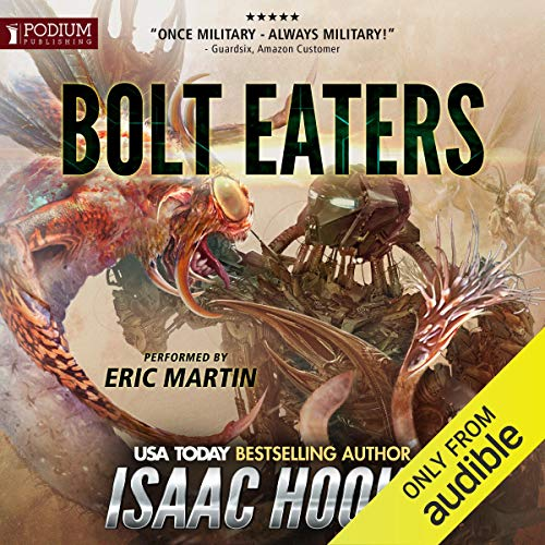 Bolt Eaters audiobook cover art