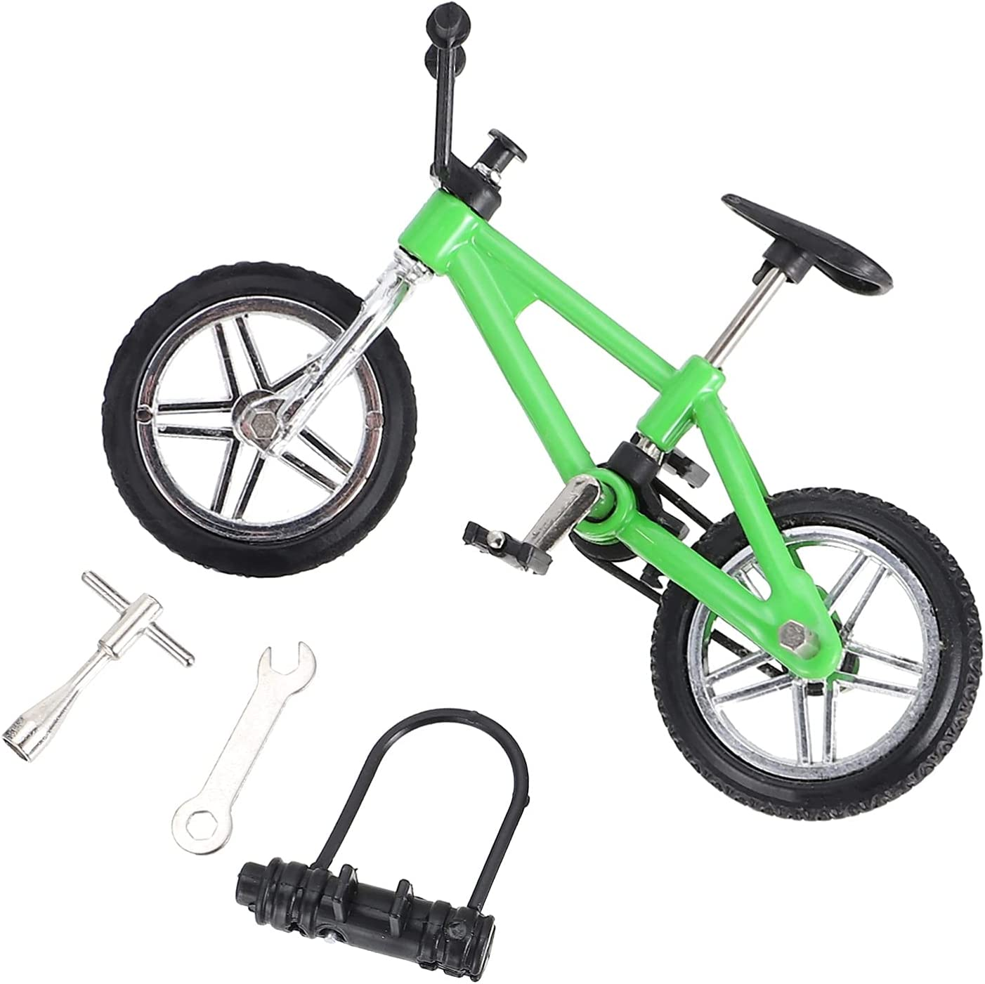 2021new shipping free BESPORTBLE 1 Set Mini Finger Bike Bicycle Die Max 64% OFF Alloy Model
