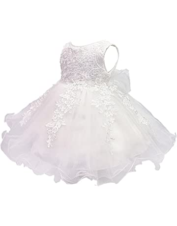 c90c61dcbe622 S T ベビードレス 新生児 子供ドレス ベビー服 フォーマル 赤ちゃん 綿裏生地 結婚式 お宮参り