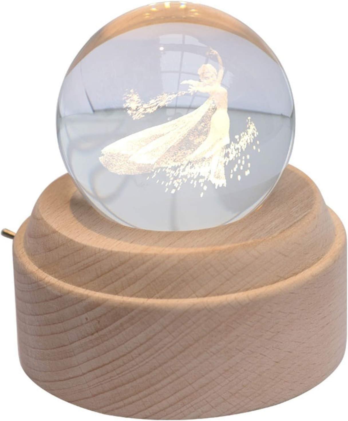 jinyi2016SHOP Crystal Ball Glass Max 46% Our shop most popular OFF Sphere Princess Mu