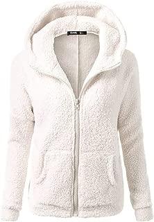 YANYUN 5XL Winter Fleece Coat Women Zipper Warm Fashion Hoodie Fashion 2019 Solid Long Sleeve Jacket Outwear Cotton Pocket