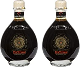 Due Vittorie Oro Gold Balsamic Vinegar of Modena. Highest score from The Consortium of Modena Without Cork Pourer - 250ml (2 pack)