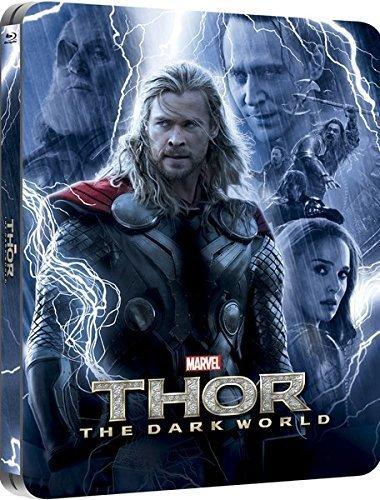 Thor: Dark World 3D (Includes 2D Version) - Limited Lenticular Edition Steelbook Blu-ray