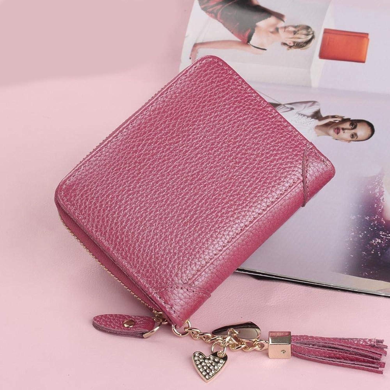 Girls Purse Women's Wallet,Women's PU Leather Wallet MultiCard Ladies Wallet (color   D)