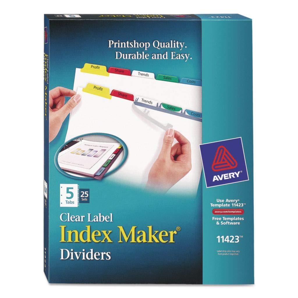 AVE11404 - Size : 11 x 8 Brand Cheap Sale Venue 1 Index Avery Pu 2