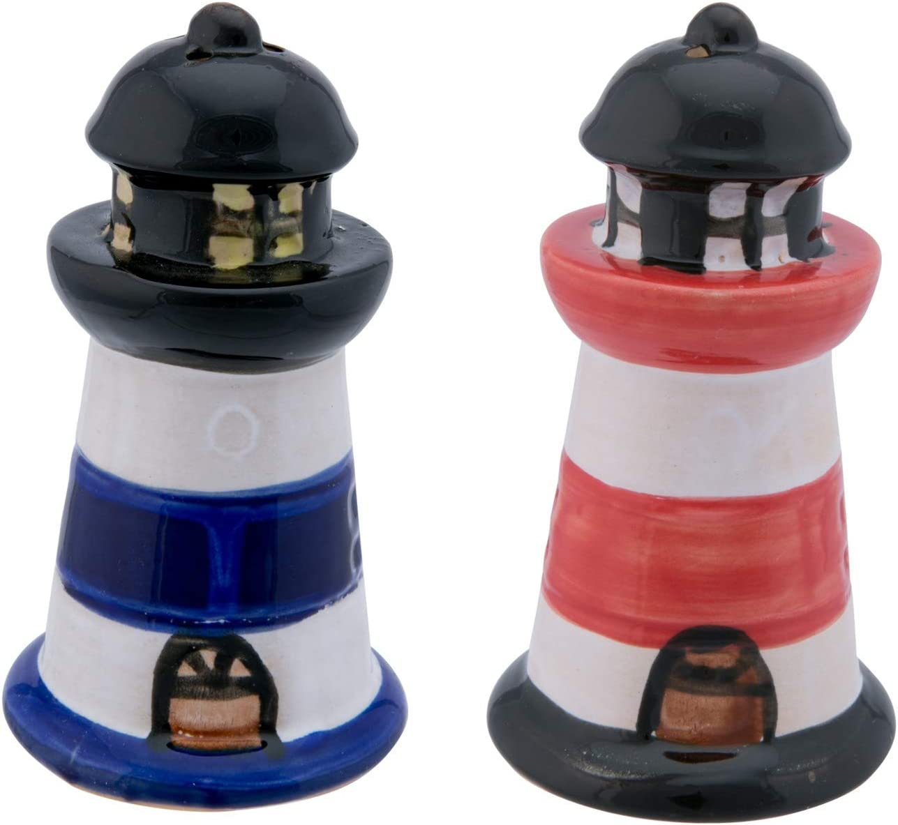 Beachcombers 03195 2-piece Lighthouse All items free shipping Shaker Salt Set At the price Pepper