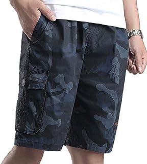 Howme Men's Half Pants Cotton Washed Sports Multicam Tactical Pants