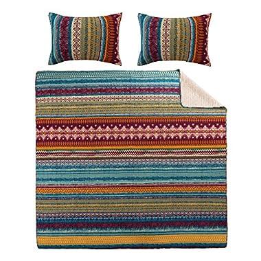 Greenland Home 3-Piece Southwest Quilt Set, King
