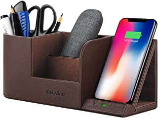 EasyAcc Wireless Charger Desk Organizer Wireless Charging Station for iPhone 11 Pro X XS MAX XR 8 Plus and Samsung S7 Edge...