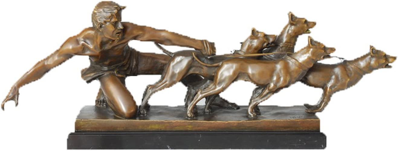Max 61% OFF Toperkin Mother and Boys Bronze Statues Save money Home Handmade Sculpture