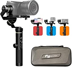 FeiyuTech G6 Plus 3-Axis Handheld Gimbal Stabilizer,Fits Mirrorless Camera, Pocket Camera, GoPro, Smartphone,Payload 800g,Splashproof