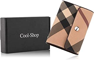 Credit Card Holder,Cool-Shop Card Holder for Women Credit Card Protector Plaid Case Business Name Card Holder