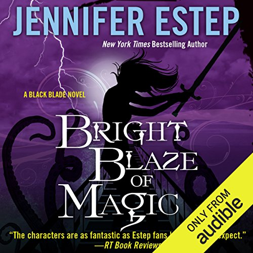 Bright Blaze of Magic audiobook cover art