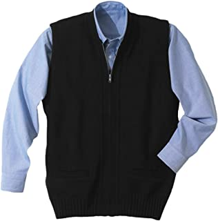 Ed Garments Men's Heavy Weight Two Pocket Zipper Vest