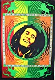 Traditionelle Jaipur Hippie Poster, Bob Marley Wand