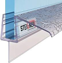 STEIGNER douchestrip, 80cm, glasdikte 5/6/ 7 mm, recht, pvc, vervangende afdichting voor douches, UK21