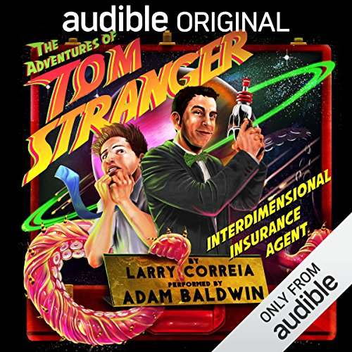 Couverture de The Adventures of Tom Stranger, Interdimensional Insurance Agent