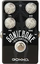 GOKKO AUDIO GK-21 Guitar Effect Pedal SonicBone Crunch Distortion with Aluminum Alloy Housing True Bypass