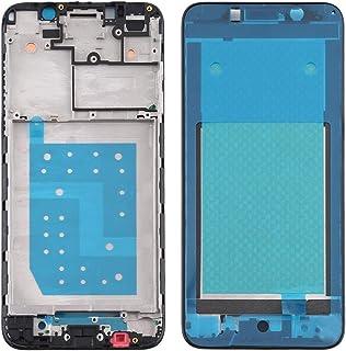 Mobile Phones Communication Accessories Front Housing LCD Frame Bezel Plate for Motorola Moto E6 Play (Color : Black)