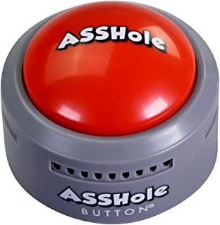 Talkie Toys Products Asshole Button,Talking Button Features Funny Asshole Sayings