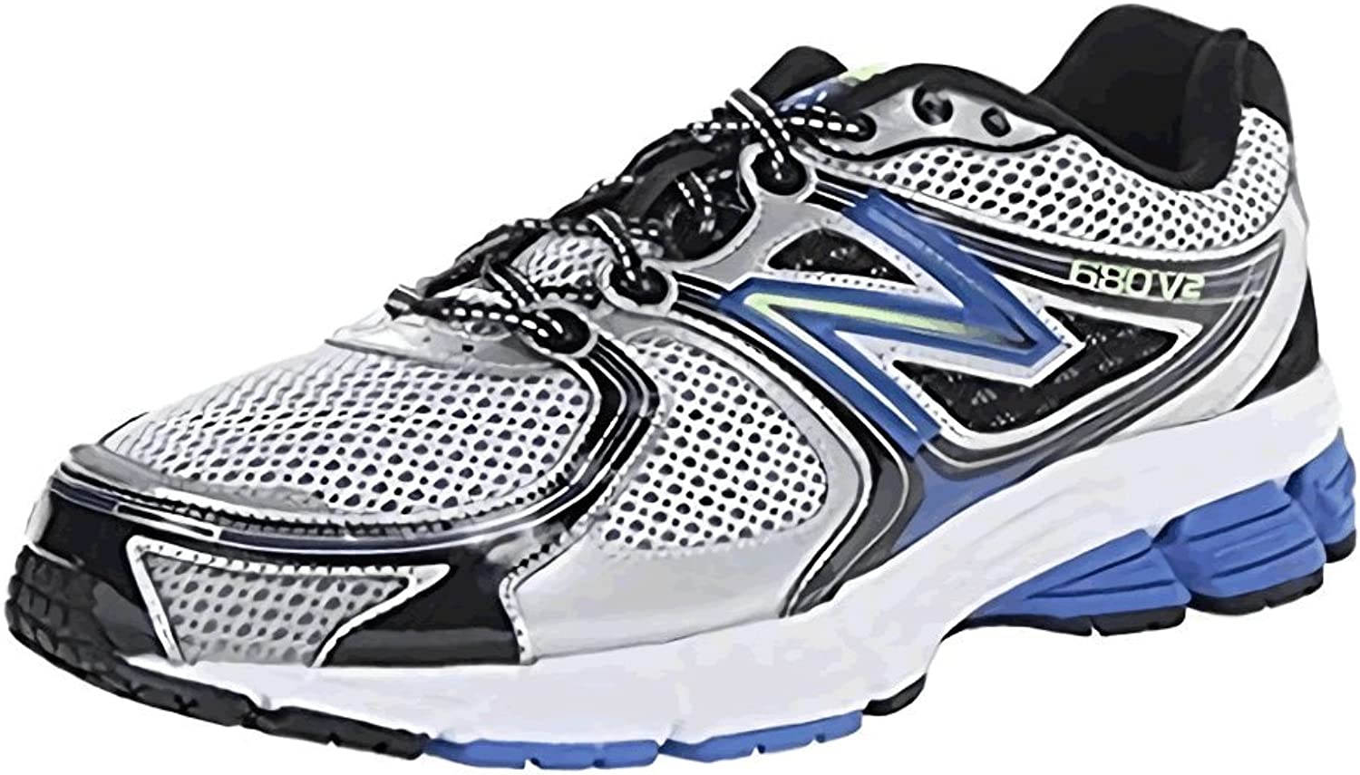 New Balance Mens M680SB2 4E Fitting Wide Running shoes(Grey bluee)