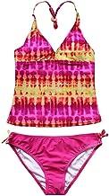 Traje de baño Vestido de Verano Chica Bikini Cortos Top Elegante Piscina Cubierta Playa Traje de baño de la Playa fijados 7-16
