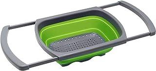 Oban Kitchen Colander collapsible, Colander Strainer Over The Sink Vegetable/Fruit Colanders Strainers With Extendable Han...