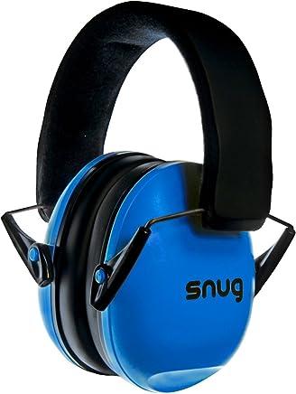 Snug Kids Earmuffs / Best Hearing Protectors – Adjustable Headband Ear Defenders For Children and Adults (Original Blue)