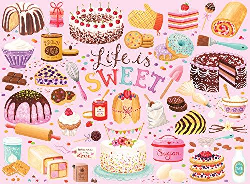 1000 piece cake puzzle - 1