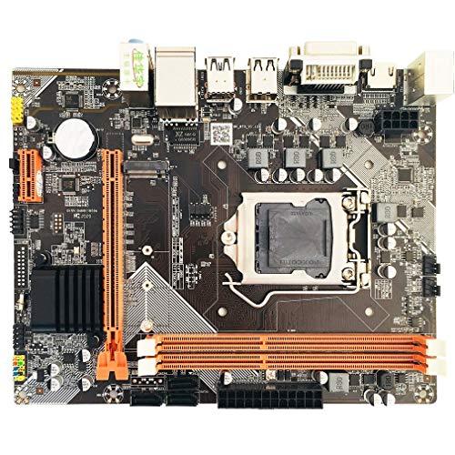 H61 para Conjunto de gráficos Integrados de Placa Base para Intel Core I7 / i5 / i3 / Pentium (Negro)