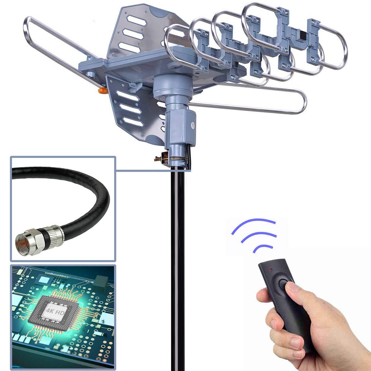 pingbingding Outdoor Antenna Motorized Rotation