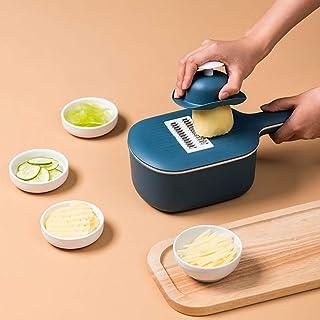 Trancheuse Mandoline coupe-légumes Veggie Dicer Multifonction 4 En 1 Légumes Shredder Ménages Pommes De Terre Slicer Alime...