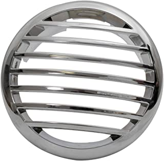 Manufacturers' Select ITC Stainless Steel Clad High Dome Airflow Marine Vent Cover for use with 3 ducting (81934SS)