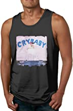 Chenshilin Melanie Martinez Cry Baby Men's Performance Sleeveless Workout Muscle Bodybuilding Tank Tops Shirts