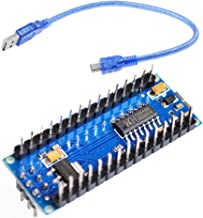 3Pcs USB CH340G 5V 19MA Arduino Nano V3.0 Module Micro-controller Board Arduino (Pack of 3) CLW1060 With line - Welded / 1Pcs