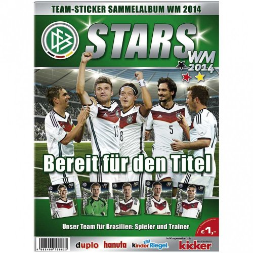 DFB Team-Sticker Sammelalbum WM 2014
