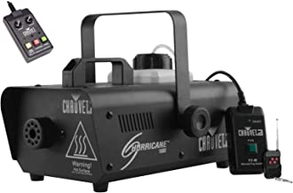Chauvet DJ Hurricane 1000 Fog Smoke Machine w/ Wired & Wireless Remotes | H1000