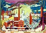 Poster 40 x 30 cm: Chemnitzer Fabriken von Ernst Ludwig