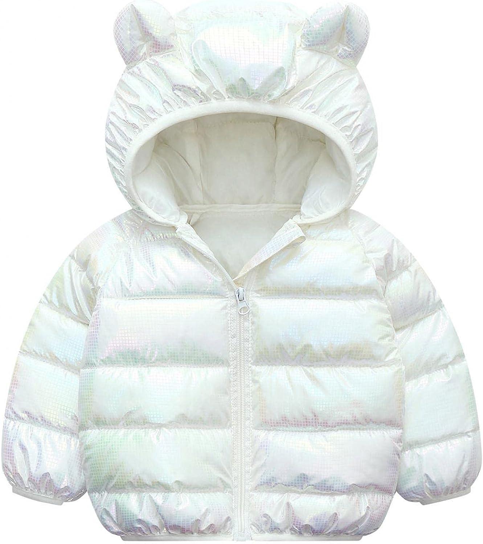 IKFIVQD Toddler Kids Winter Award-winning store Coats with Baby G Hoods Boys Fashion Bargain