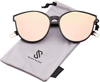 Fashion Round Sunglasses for Women Men Oversized Vintage Shades SJ2057