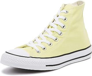 converse femmes jaune pale